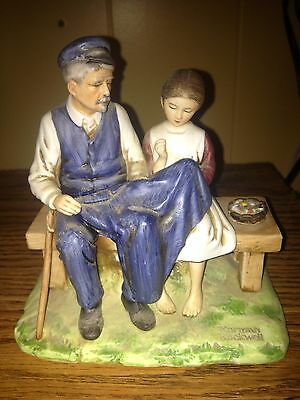 Norman Rockwell Figurine The lighthouse Keepers Daughter