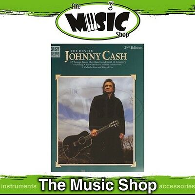 New Best of Johnny Cash Music Book for Easy Guitar with Notes & Tab