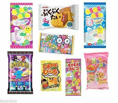 8 PIECE DIY JAPANESE CANDY SET Popin Cookin & other Candy -3 Christmas Present