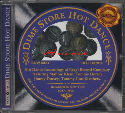CD Various Artists - Dime Store Hot Dance JAZZ ORACLE 8023.REGAL RECORD COMPANY