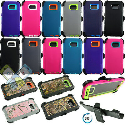 For Samsung Galaxy S6/S6 Edge & Edge Plus Defender Case w/ Clip fits Otterbox