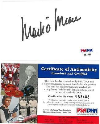 Mark O'Meara Signed Authentic Autographed 3x5 Index Card PSA/DNA #B83488