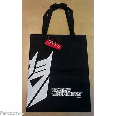 Transformers sac Decepticon officiel neuf sous blister transformers tote bag