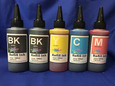 500ml refill ink FOR EPSON WF7710 7720 7620 3620 3640 cis/refillable cartridge