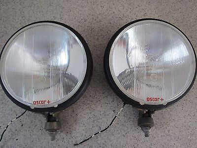 """used pair Cibie Oscar +  7"""" MADE in france running lights for BMW,VOLVO,PORSCHE"""