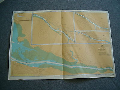 Vintage Admiralty Chart 2007 SCOTLAND - RIVER CLYDE 1986 edition