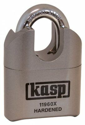 KASP K11960XD CLOSE SHACKLE COMBINATION PADLOCK - 60mm HIGH SECURITY- 119 Series