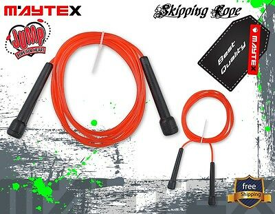 Skipping Ropes Fitness Cardio Speed Exercise Gym Boxing Mma Sports Training 3Mtr