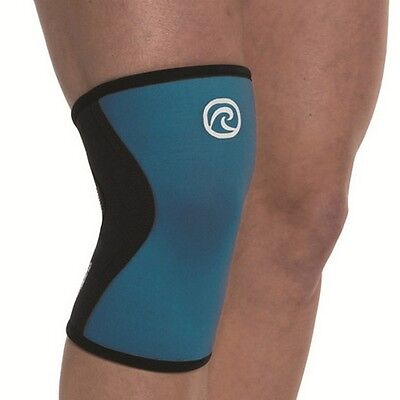 CROSSFIT KNEE SUPPORT REHBAND 7751 Rx CORE LINE KNIEBANDAGE - Turquoise
