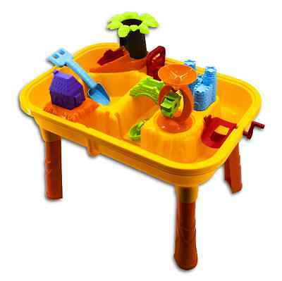 Toddler Kids Children Sand and Water Table with Accessories