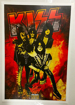 Sonic Boom Tour Numbered Lithograph Poster KISS