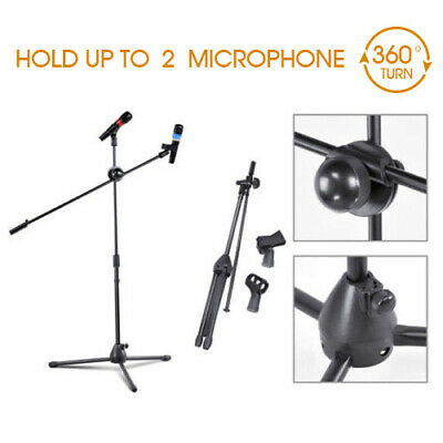 MIC STAND BOOM MICROPHONE STAGE STAND 1 to 2M