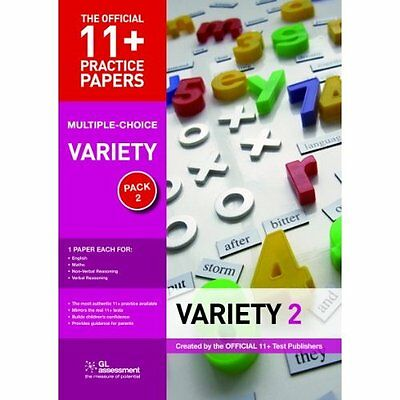 11+ Practice Papers Variety Pack 2 Multiple Choice 3e GL Assessme. 9780708703915