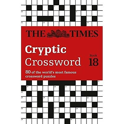 Times Cryptic Crossword Bk. 18 The Mind Games Browne Books PB / 9780007517824