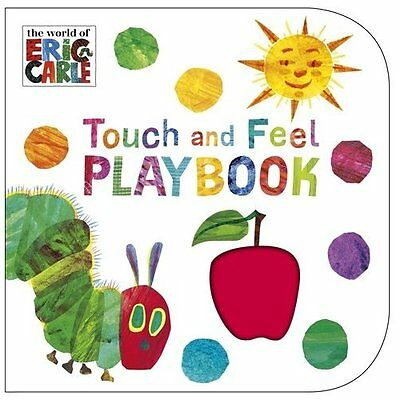 Very Hungry Caterpillar Touch Feel Playbook Carle Puffin Books Bo. 9780241959565