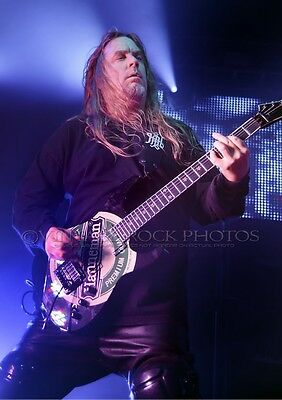 Jeff Hanneman Slayer Poster Size Photo 20x30 in Live Concert Pro Canon Print s35