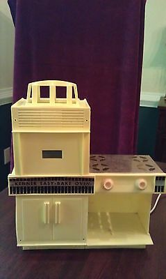 Kenner Easy-Bake Oven yellow 1960+ working condition cake pans