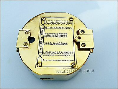 Brass Brunton Compass - Surveying Compass- Directional Brunton 3 (inch) Compass
