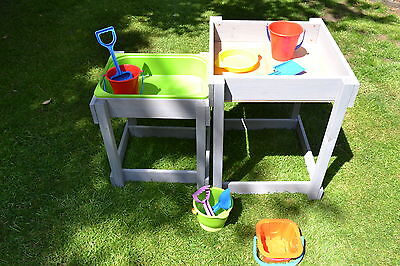 ActivKids Wooden Sandpit and Water Table