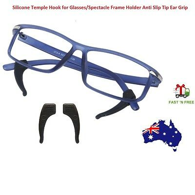 Silicone Glasses Ear Hooks Tip Grip Anti Slip Temple Holder Eye Spectacle Sports