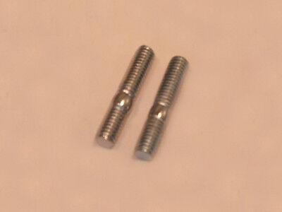 Exhaust Stud Bolts Pair 6mm GY6 50 - 150cc ~ US Seller