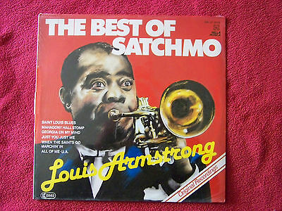 Louis Armstrong - The best of Satchmo     LP  OVP   NEU