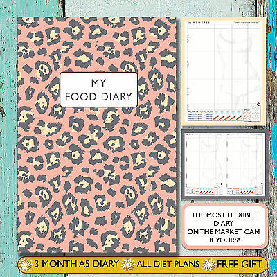 Diet Diary/tracker/notebook/ Weight Loss/food Log /slimming World Compatible