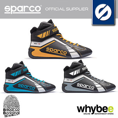 001227 Sparco Scorpion Kb-5 Kart Boots Karting Kb5 Lightweight Leather 3 Colours