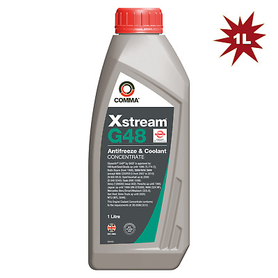 Comma Xstream G48 Antifreeze Coolant - 1 Litre Concentrated Blue/Green 1L