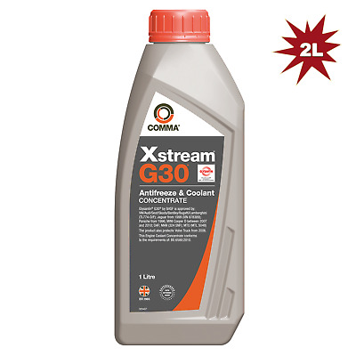 Comma Xstream G30 Concentrated Antifreeze Coolant (Violet) - 2x1 Litre