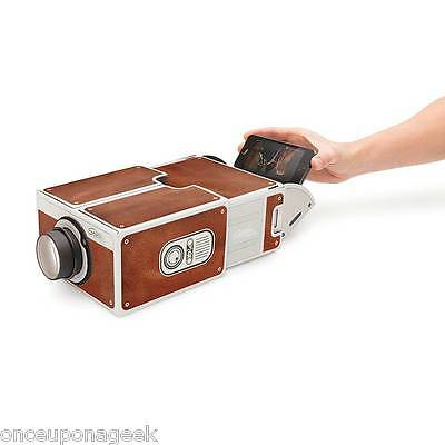 Assembled Cardboard Smartphone Projector Mobile Phone Projector 2.0