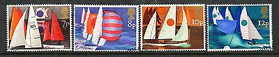 GB 1975 Sailing fine used set stamps
