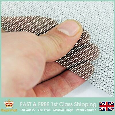 #20- Stainless Steel - Coarse - 0.92mm Aperture - Woven Mesh - Various Sizes