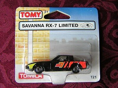 VINTAGE - RARE TOMY UK - TOMICA - SAVANNA RX-7 LIMITED - T21