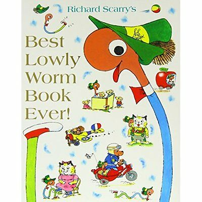 Best Lowly Worm Book Ever Scarry HarperCollins Children's Books P. 9780007581016