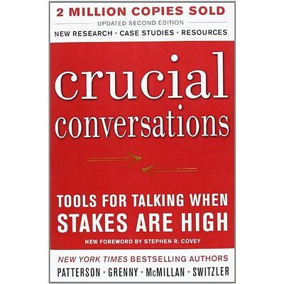 Crucial Conversations Tools for Talking When Stakes Are High 2e P. 9780071775304