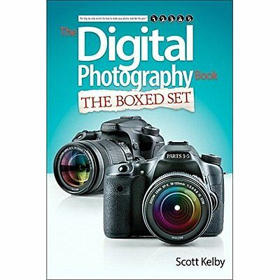 Scott Kelby's Digital Photography Parts 1 2 3 4 5 Kelby Peachpit . 9780133988062
