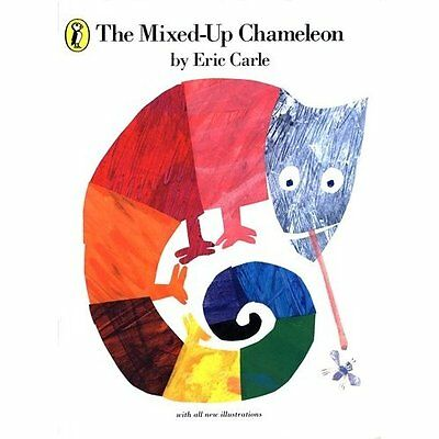 The Mixed-up Chameleon Eric Carle Puffin Books PB / 9780140506426