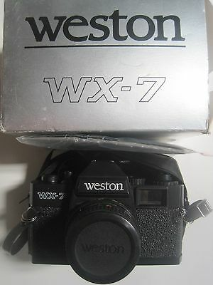 VINTAGE Weston WX-7 35mm Camera with Box and Instructions