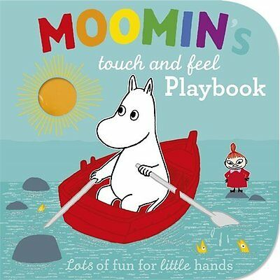 Moomin's Touch and Feel Playbook Jansson Puffin Books Board book 9780141352633