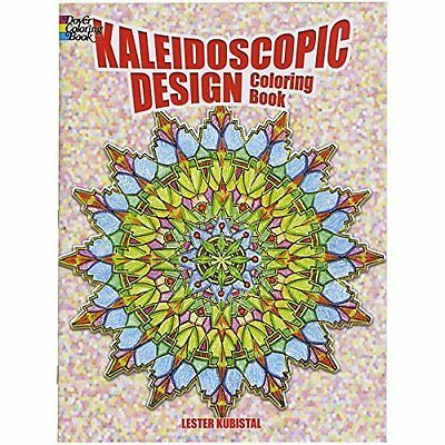 Kaleidoscope Design Colouring Book Kubistal Dover Publications In. 9780486405667