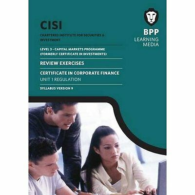 CISI Capital Markets Programme Certificate Corporate Finance Unit. 9781472708694