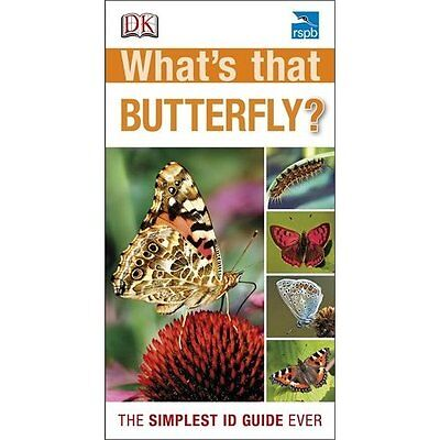 RSPB What's That Butterfly? DK Paperback / softback 9781409345053