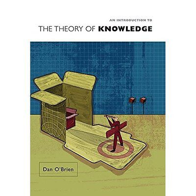 An Introduction to Theory Knowledge Dan O'Brien Polity Press PB / 9780745633176