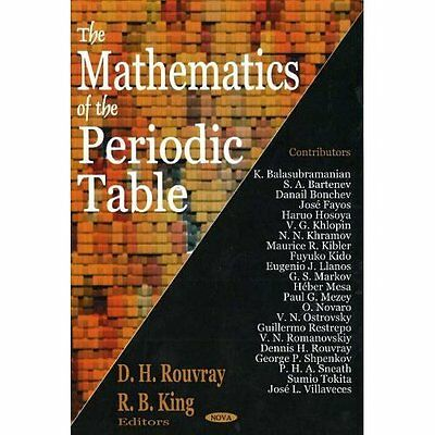 Mathematics Periodic Table Rouvray King Nova Science Inc Hardback 9781594542596