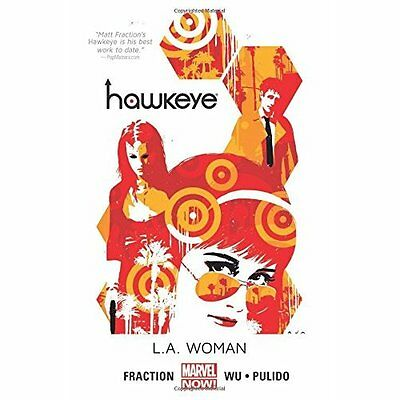Hawkeye L.A. Woman Fraction, Pulido, Wu Marvel Comics PB / 9780785183907