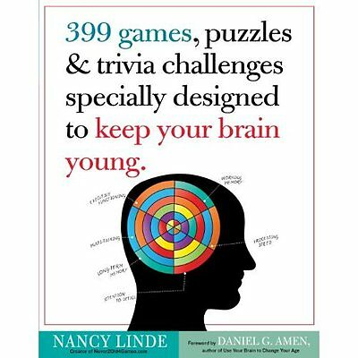 399 Games Puzzles Trivia Challenges Specially Designed to Keep Yo. 9780761168256