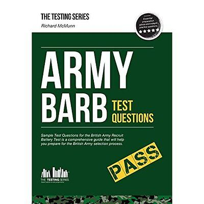 Army BARB Test Questions Sample for British Recruit Battery McMunn 9781907558498