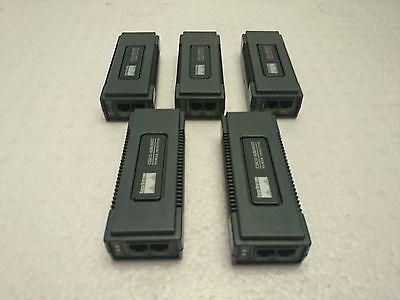 Cisco Air-Pwrinj3 Aironet Power Injector Ethernet Adapter Lot Of 5 *warranty*