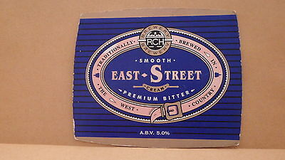 RCH East Street Ale Beer Pump Clip Face Pub Bar Collectible 24